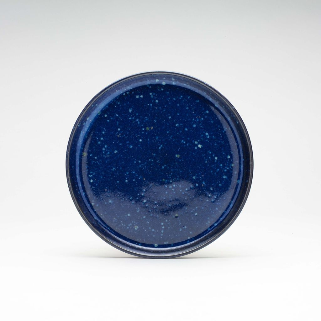 WRF Lab Stone Small Plate / Starry Night