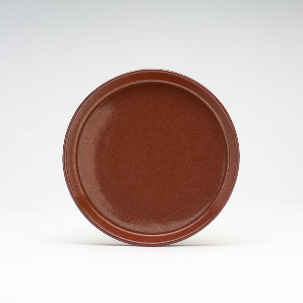 WRF Lab Stone Small Plate / Persimmon