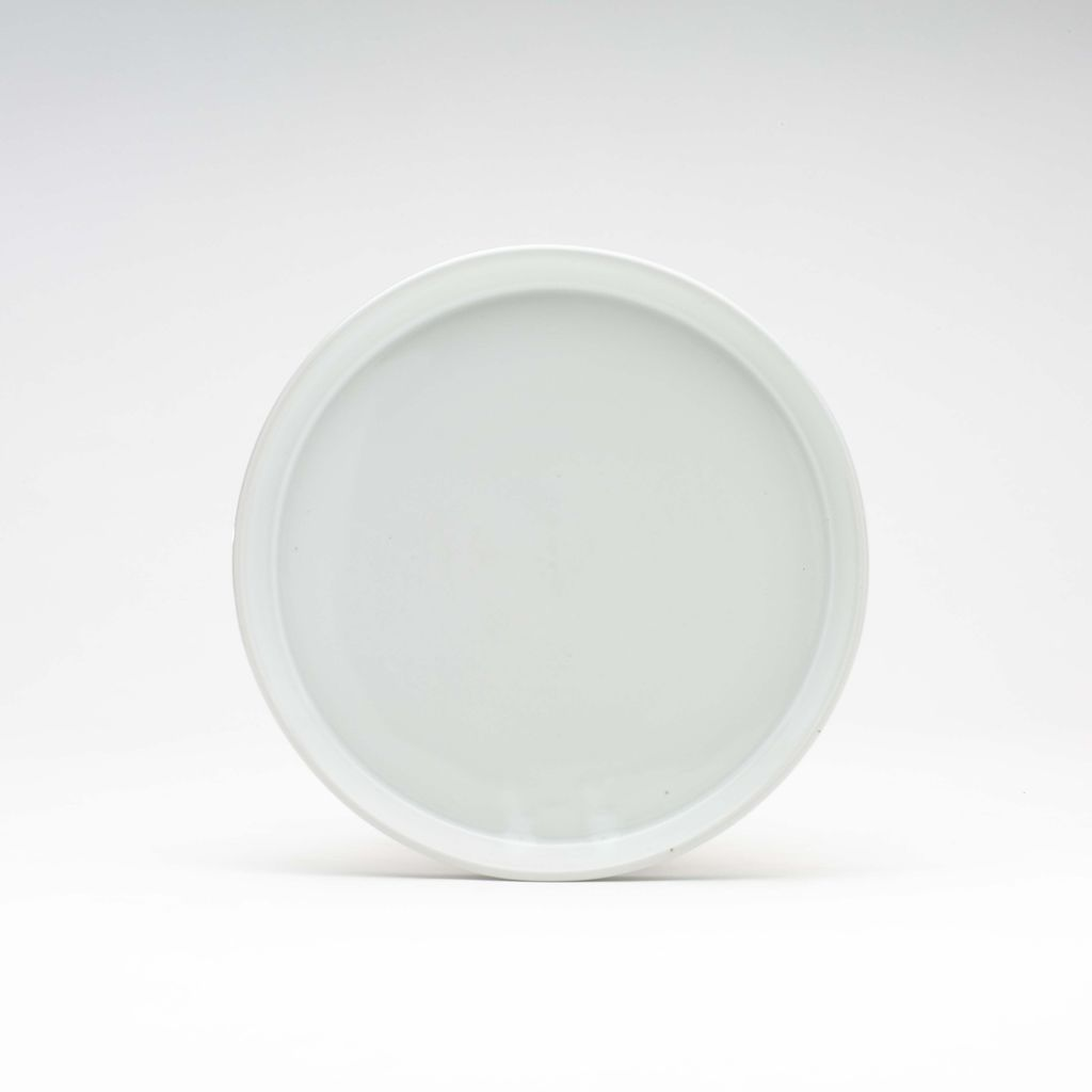 WRF Lab Stone Small Plate / White