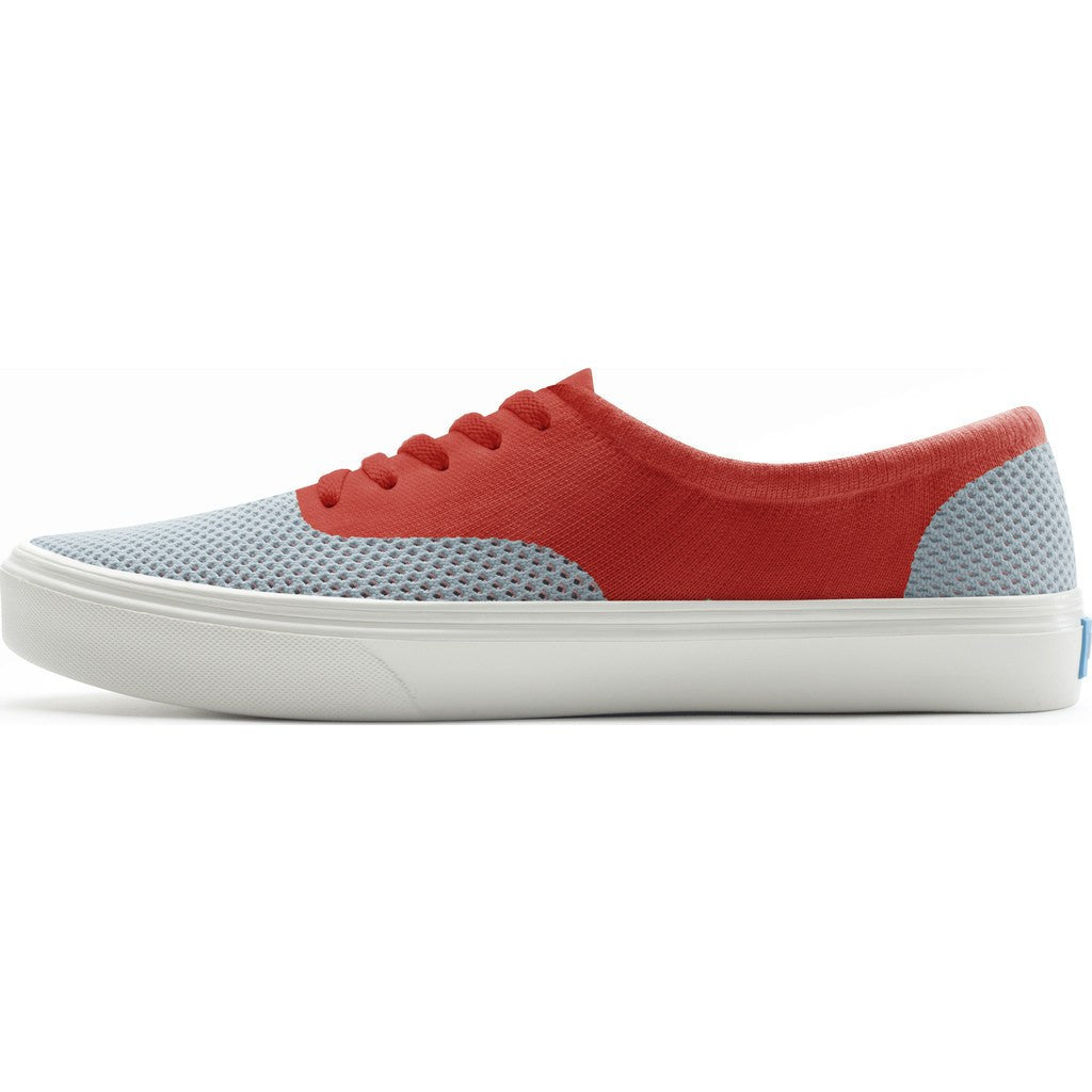 People Footwear Stanley Knit Men's Shoes | Gallery Grey/Supreme Red