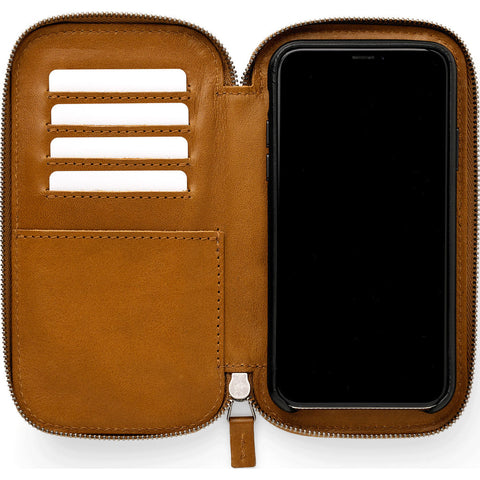 This is Ground Stash 2 Magnetic Phone Case/Wallet | Toffee STSH2-I-TFF