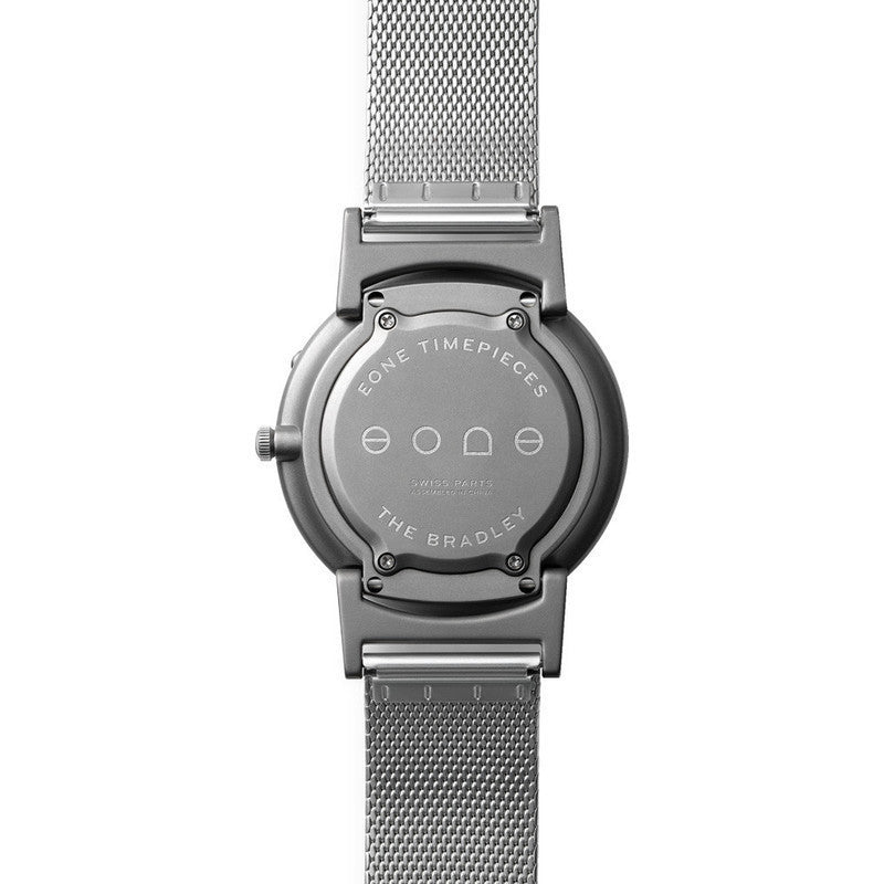 Eone Bradley Compass Graphite Ltd. Watch | Steel Mesh