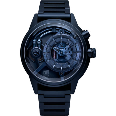 The Electricianz Electric Code Watch | Blue Z Metal
