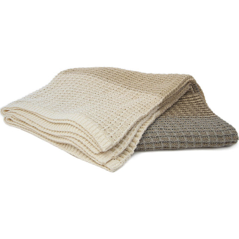 Stacy Garcia Stitch Stripe Eco Throw | Neutral