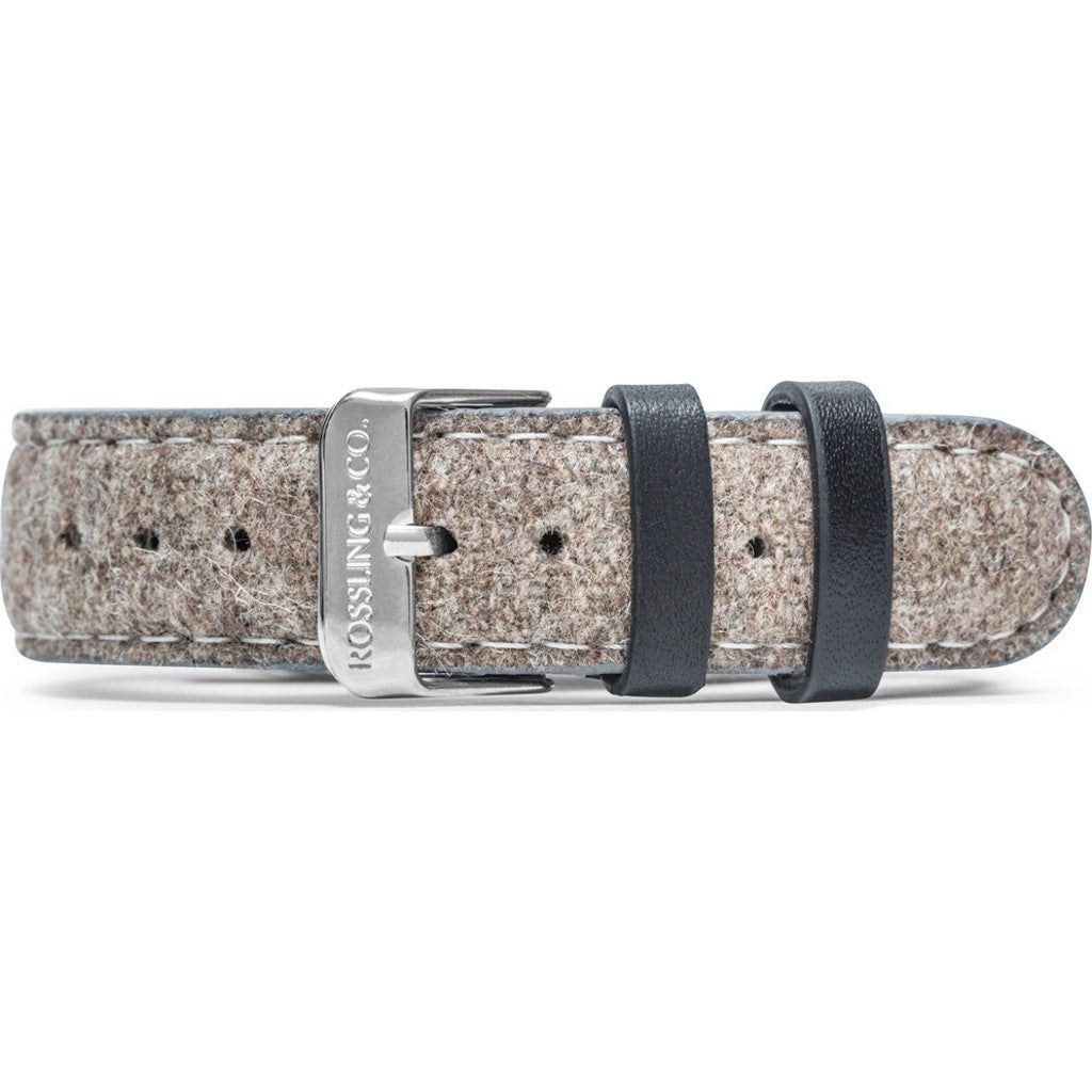 Rossling & Co. Aberdeen 20mm Watch Strap | Beige Tweed RO-999-003