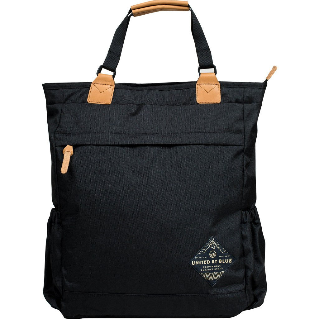United By Blue Summit Convertible Tote Pack | Black SUMMITC-BK