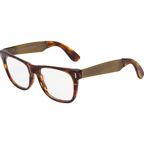 RetroSuperFuture Classic Glasses | Francis Havana Gold 2V5