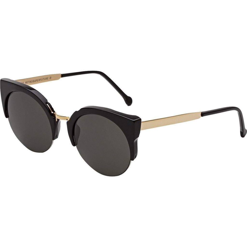 RetroSuperFuture Lucia Sunglasses | Francis Black Gold 340