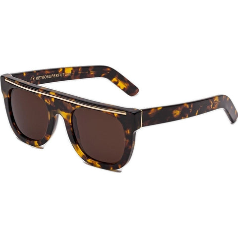 RetroSuperFuture Chicano Sunglasses | Burnt Havana 598