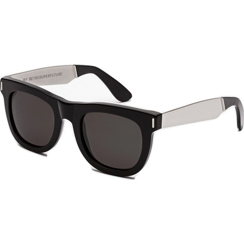 RetroSuperFuture Ciccio Sunglasses | Francis Black Silver 767