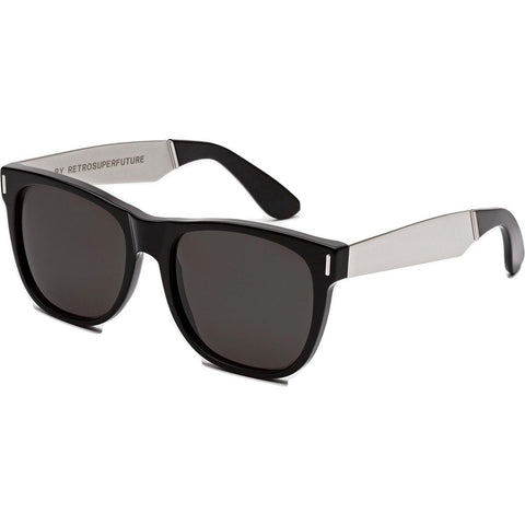 RetroSuperFuture Classic Sunglasses | Francis Black Silver 768
