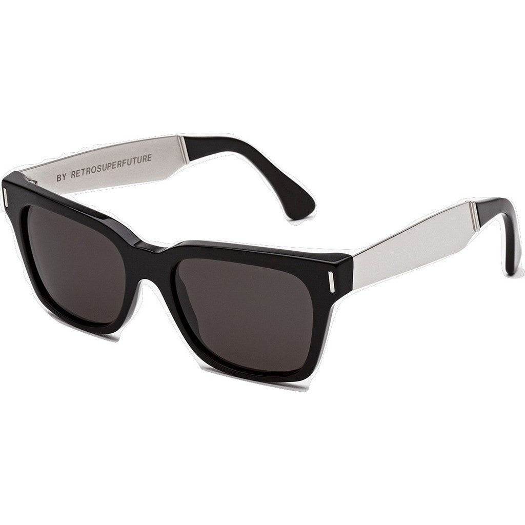 RetroSuperFuture America Sunglasses | Francis Black Silver 771