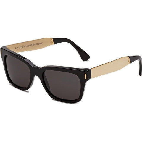 RetroSuperFuture America Sunglasses | Francis Black Gold 773