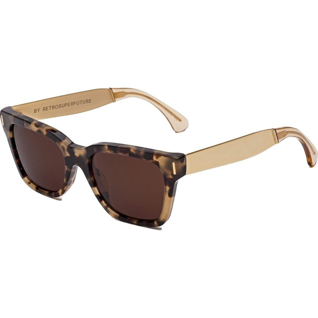 RetroSuperFuture America Sunglasses | Francis Brown Gold 775