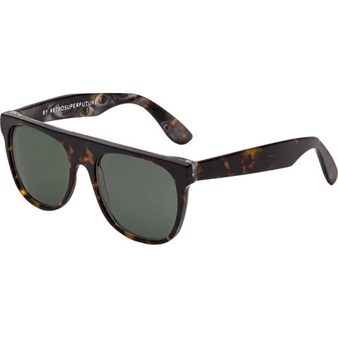 RetroSuperFuture Flat Top Sunglasses | Follia Brown DOE