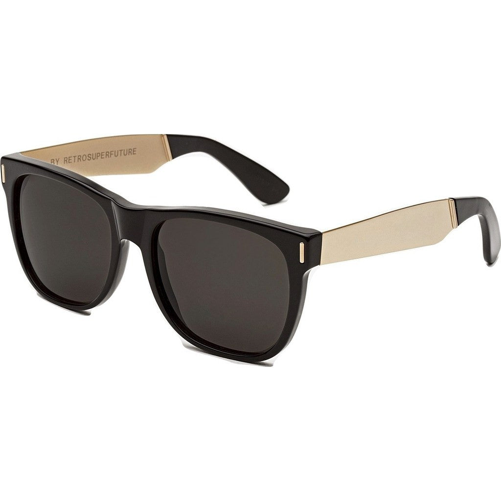 RetroSuperFuture Classic Sunglasses | Francis Black Gold 202