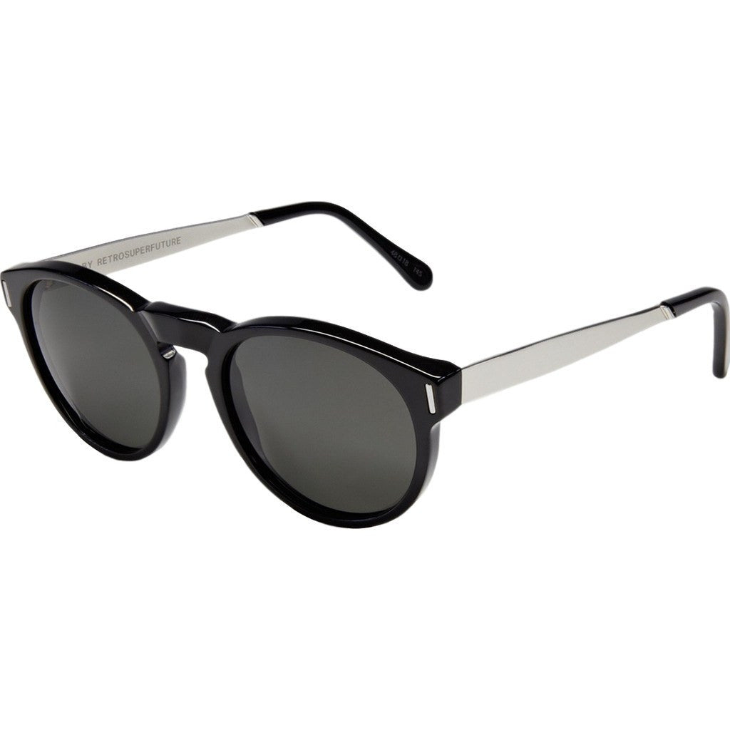 RetroSuperFuture Paloma Sunglasses | Francis Black Silver 769