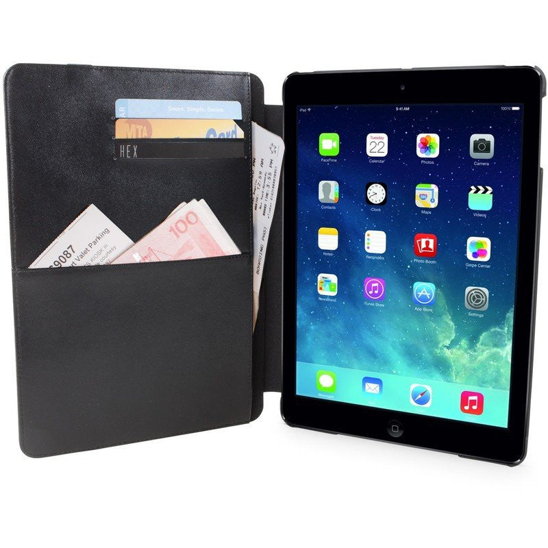 Hex Century Folio For iPad Air 2 | Blue Canvas Leather