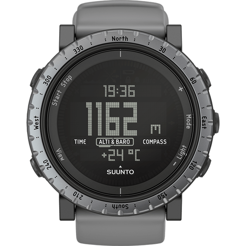 Suunto Core Outdoor Watch | Dusk Gray SS020344000