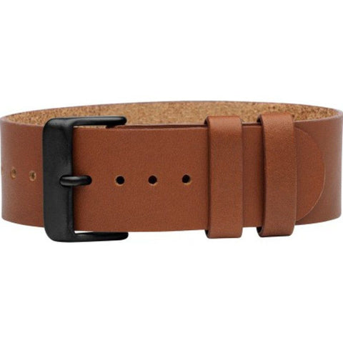 TID Natural Leather Watch Strap | Tan