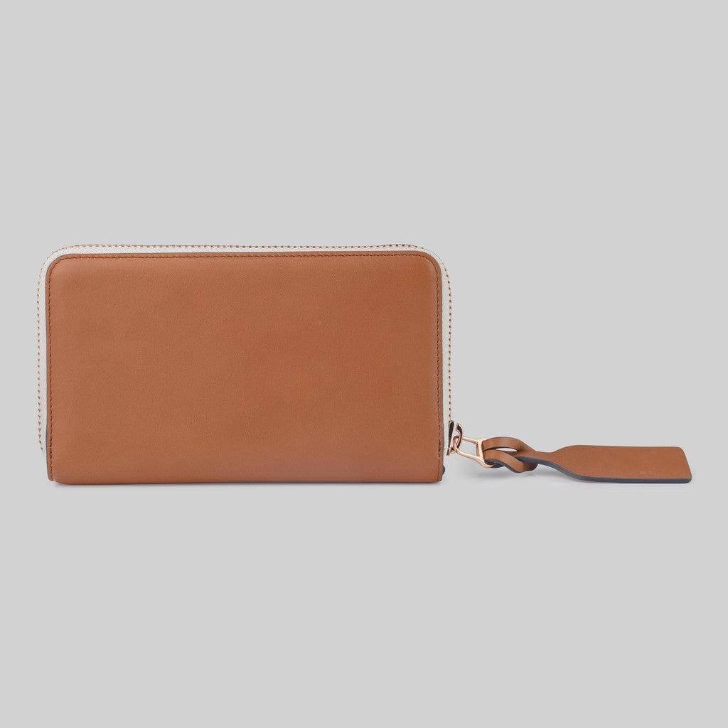 The Horse Block Wallet | Tan STO123 -L5