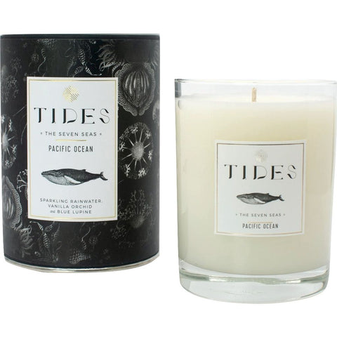 Ethics Supply Co. Organic Scented Candle | Tides Pacific Ocean