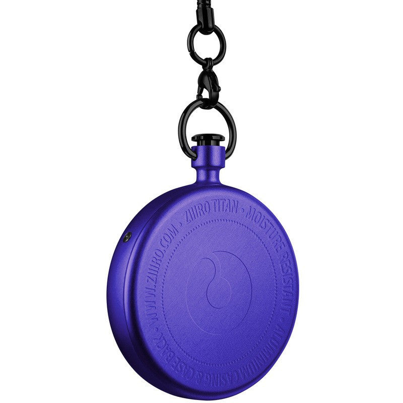 ZIIIRO Titan Violet Pocket Watch | Z0009PWP