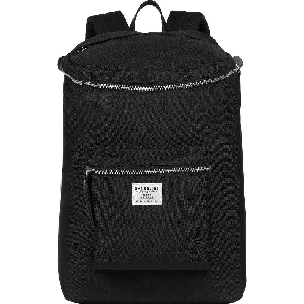 Sandqvist Tobias Backpack | Black SQA605