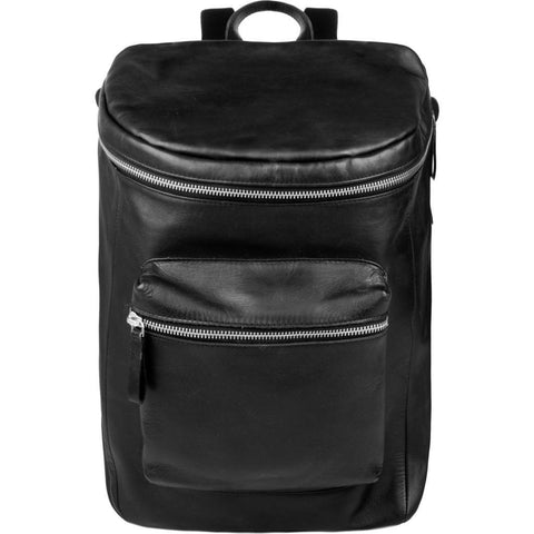 Sandqvist Tobias Backpack | Black Leather SQA653