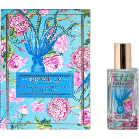 TokyoMilk Neptune & The Mermaid No. 31 Eau De Parfum | 20,000 Flowers Under the Sea