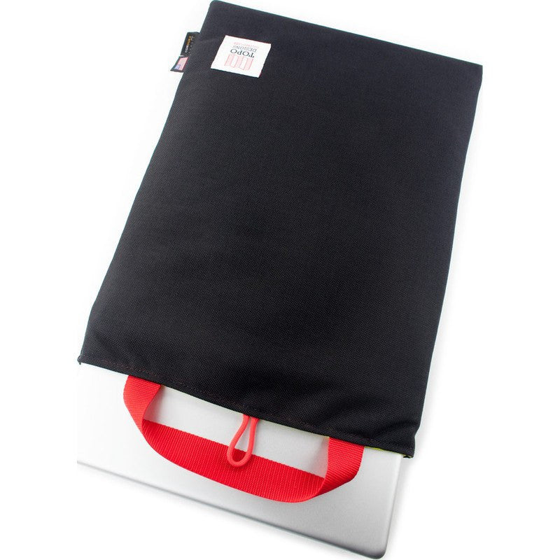 Topo Designs Laptop & iPad Sleeves (4 sizes) | Black