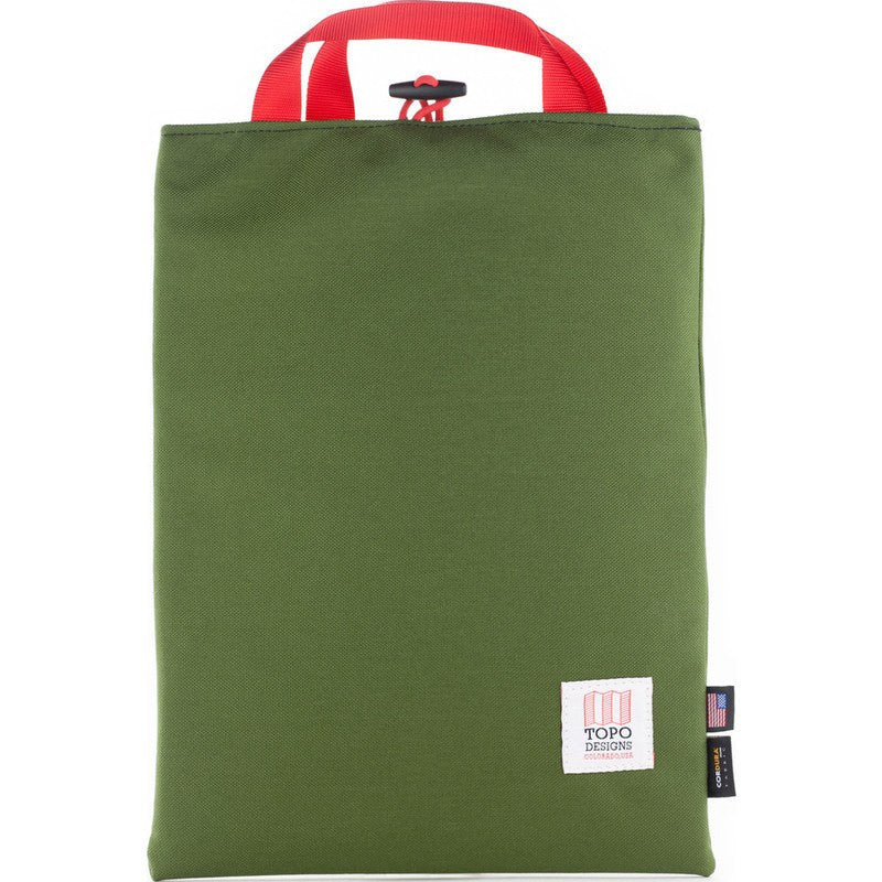Topo Designs Laptop & iPad Sleeves (4 sizes) | Olive
