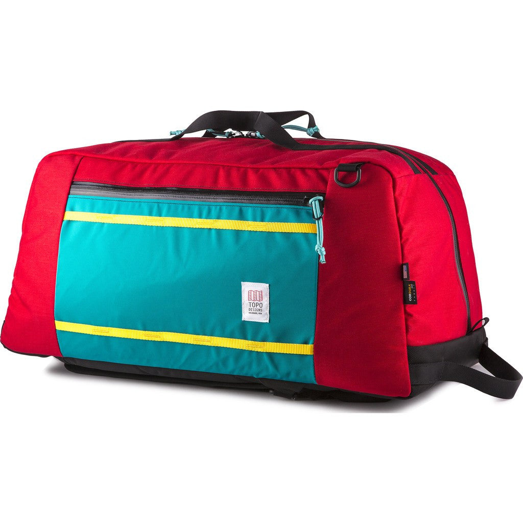 Topo Designs Mountain Duffel Hybrid Bag | Red