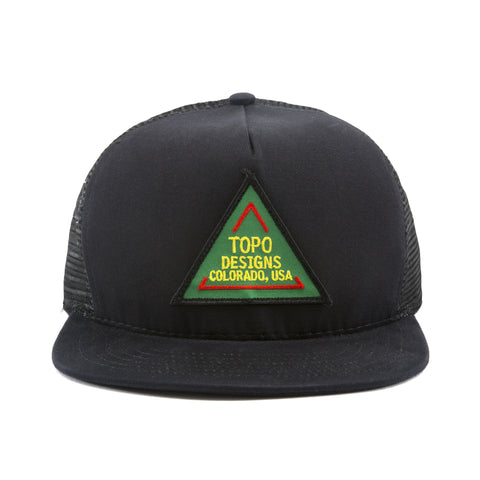 Topo Designs Road Sign Hat | Black