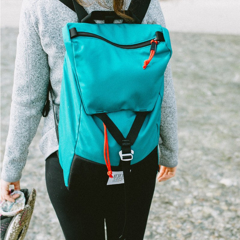 Topo Designs Y-Pack Backpack | Turquoise