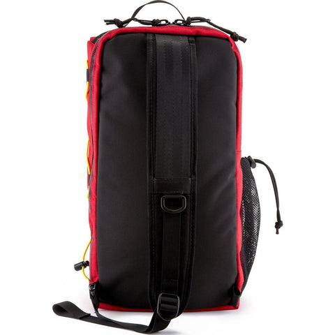Topo Designs Sling Bag Messenger | Red/Olive