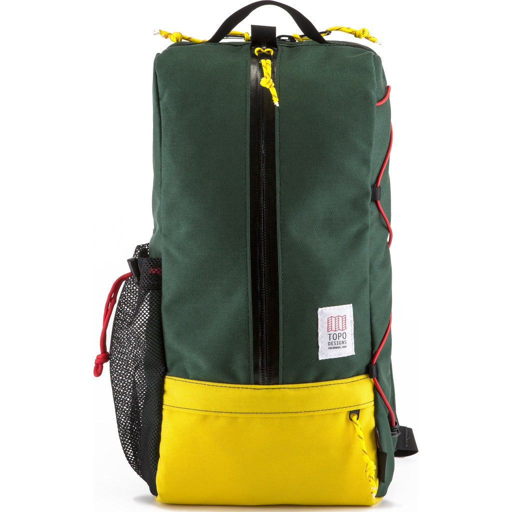 Topo Designs Sling Bag Messenger | Forest/Sunshine