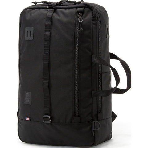 Topo Designs Travel Bag Backpack | Ballistic Black