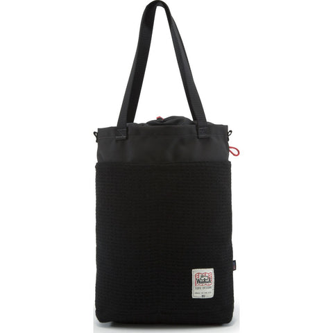 Topo Designs x Woolrich Cinch Tote Bag | Black Waffle