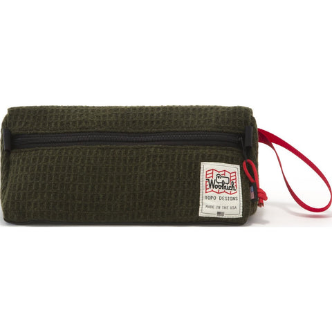 Topo Designs x Woolrich Dopp Kit | Olive Waffle