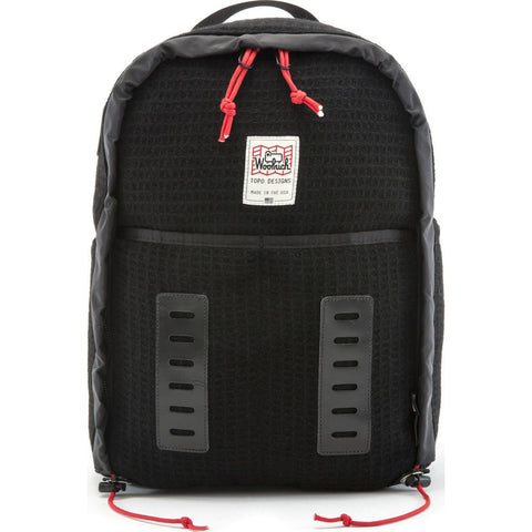 Topo Designs x Woolrich Span Daypack Backpack | Black Waffle