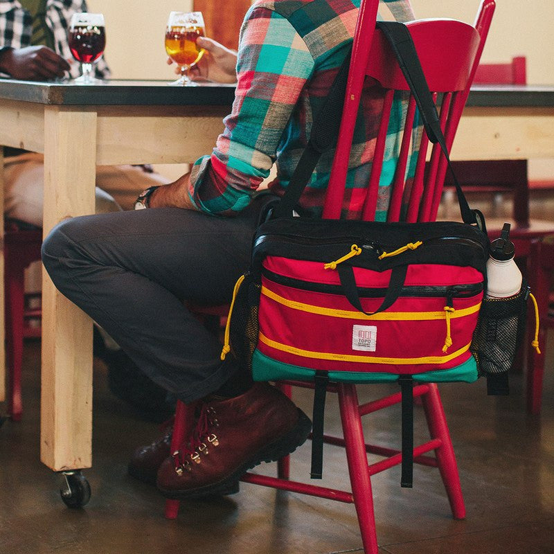 Topo Designs Mountain Messenger Bag | Red