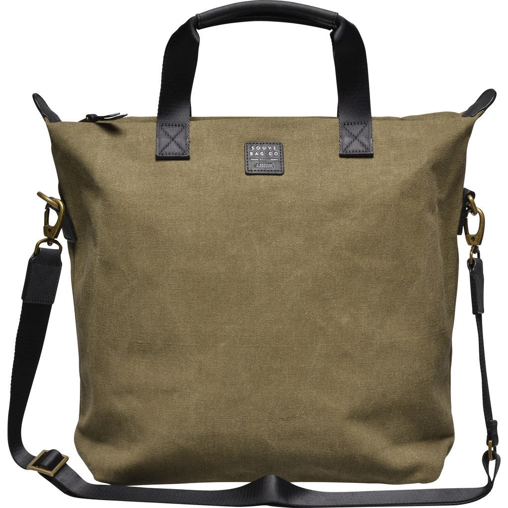 Souve Bag Co Canvas Tote Bag | Olive [AR00039]