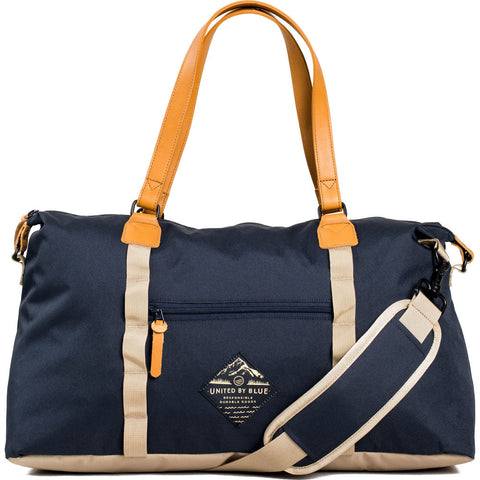 United by Blue Trail Weekender | Navy/Tan 504-0027-NAVY/TAN