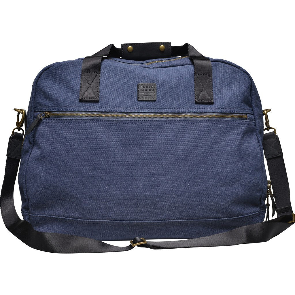 Souve Bag Co Canvas Medium Travel Messenger | Blue [AR00098]