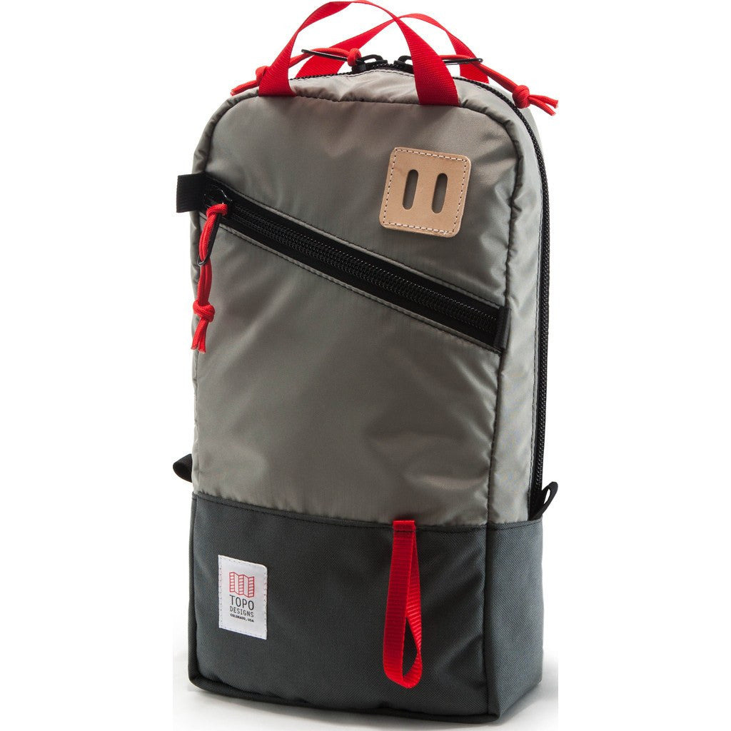 Topo Designs Trip Pack Backpack | Silver/Charcoal