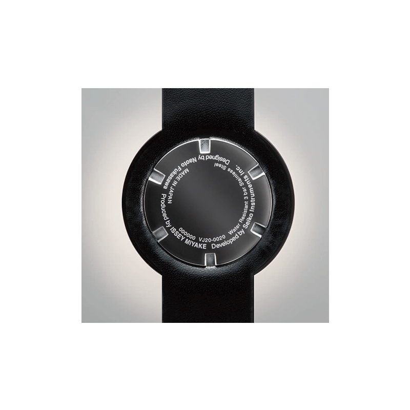 Issey Miyake Twelve White & Black Men's Watch | Leather