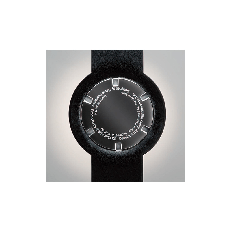Issey Miyake Twelve Grey Men's Watch | Leather
