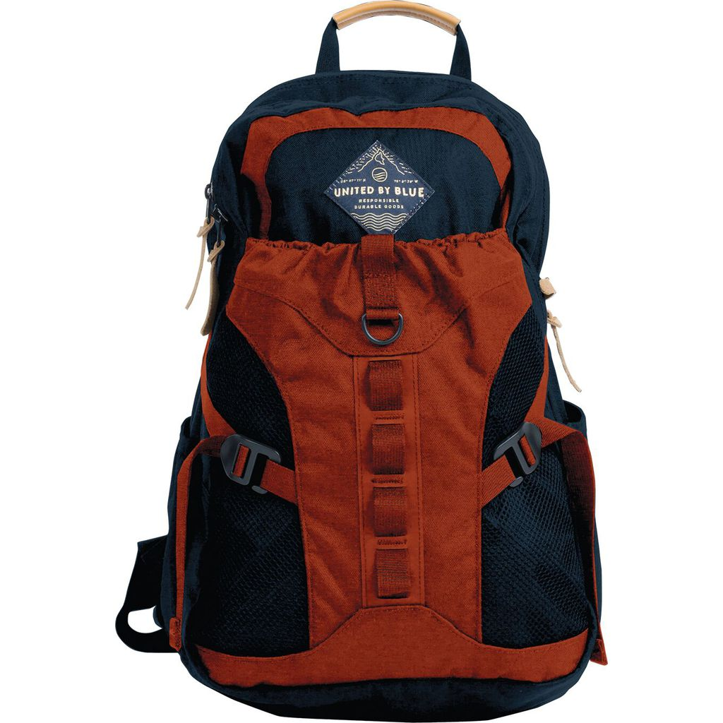 United By Blue 22L Tyest Pack Backpack | Navy/Rust