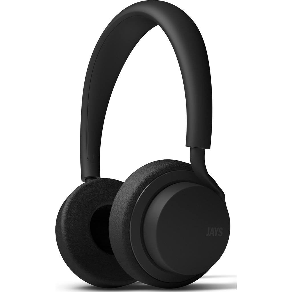 JAYS u-JAYS On-ear Headphones | Black/Black